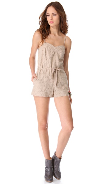 BB Dakota O'Hara Embroidered Romper