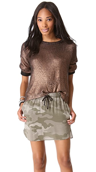 BB Dakota Chey Metallic Sweater