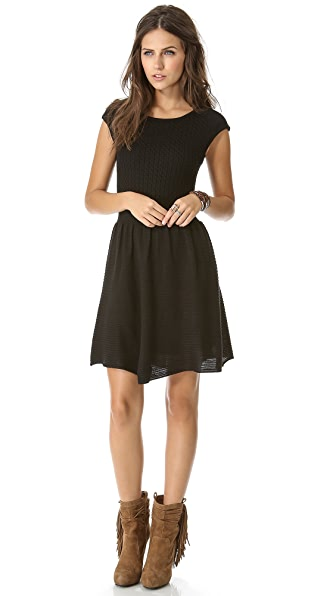 BB Dakota Jade Cap Sleeve Sweater Dress