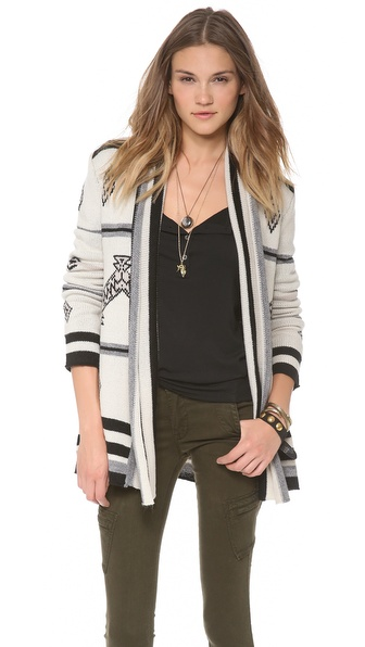 BB Dakota Rolly Cardigan