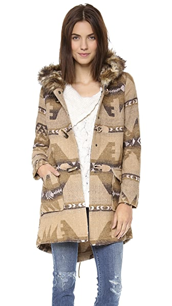 BB Dakota Davina Patterned Coat