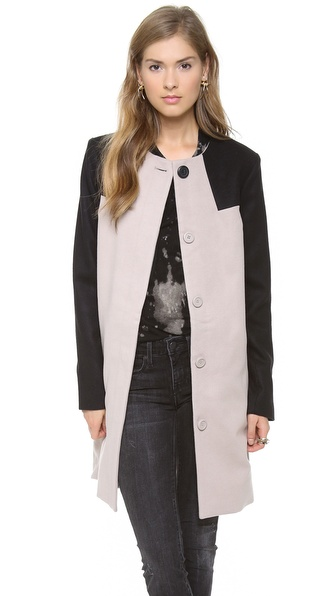 BB Dakota Hana Colorblock Coat