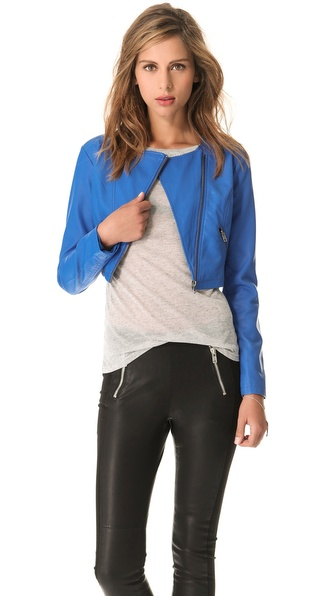 BB Dakota Zuma Cropped Moto Jacket