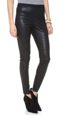 BB Dakota Katrine Faux Leather Pants