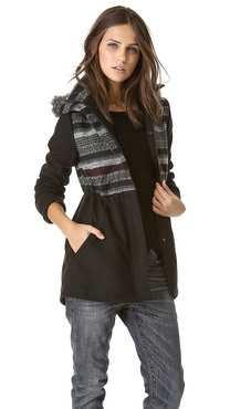 BB Dakota Isolde Patterned Coat