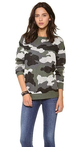 BB Dakota Camo Sweater