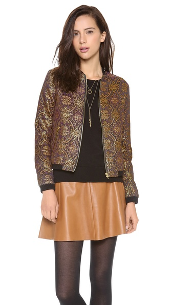 BB Dakota Joss Brocade Letter Jacket