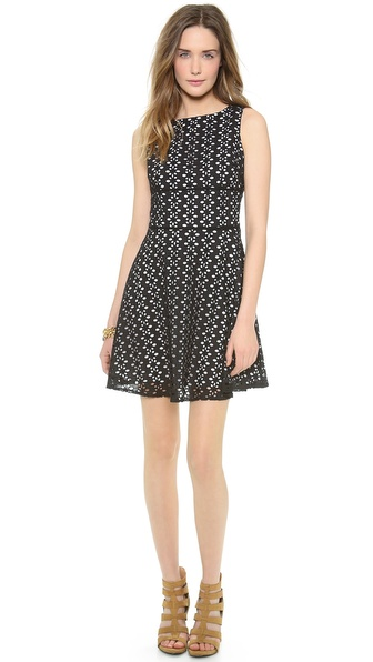 BB Dakota Dixon Eyelet Dress