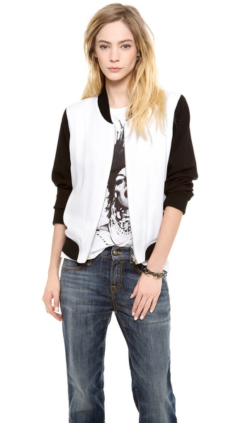 BB Dakota Jeanie Baseball Jacket