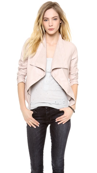 BB Dakota Isra Vegan Leather Jacket