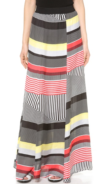 Bb Dakota Iverson Maxi Skirt - Black