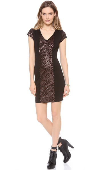 BB Dakota Declan Ponte Dress