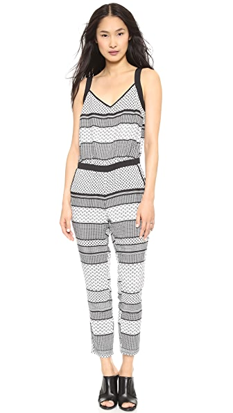 BB Dakota Holloway Striped Jumpsuit