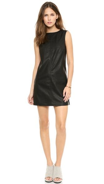 BB Dakota Rodella Faux Leather Dress