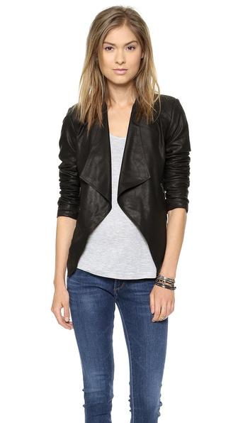 BB Dakota Tyne Leather Jacket