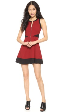 BB Dakota Violeta Colorblock Dress