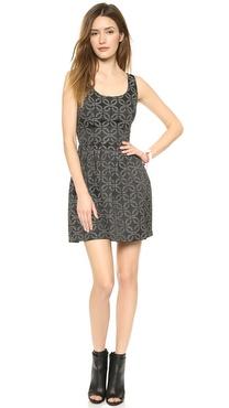 BB Dakota Dallas Jacquard Dress