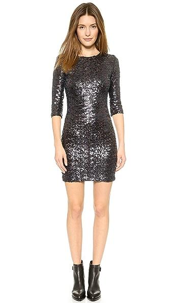 Kupi BB Dakota haljinu online i raspordaja za kupiti Bb Dakota Villette Sequin Dress Oil Slick online