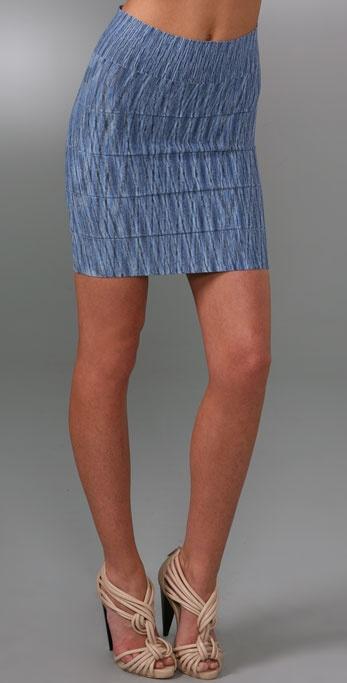BCBGMAXAZRIA Space Dye Skirt