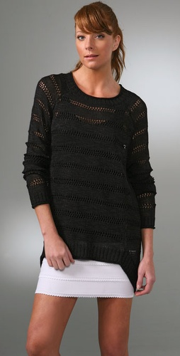 BCBGMAXAZRIA Textured Pullover Sweater
