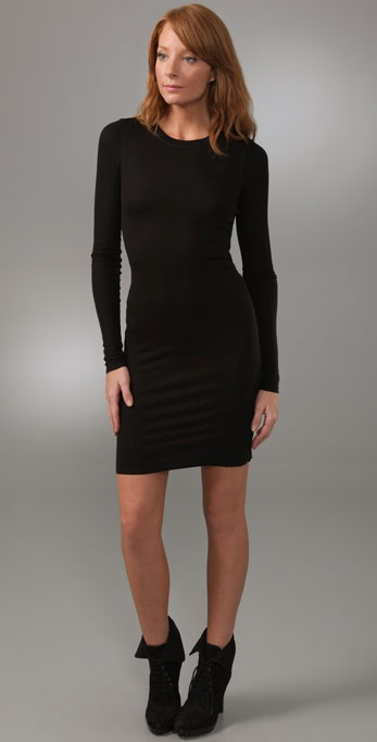 BCBGMAXAZRIA Rib Knit Dress