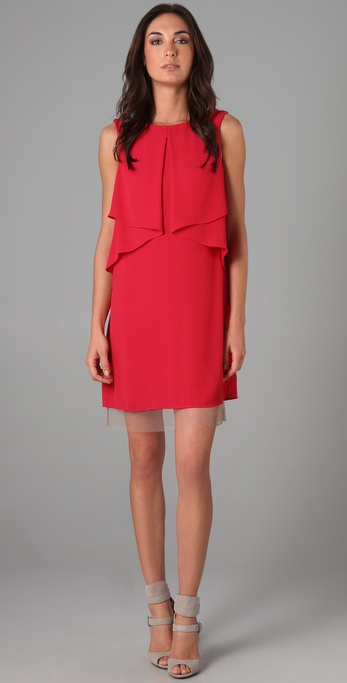 BCBGMAXAZRIA Cardine Sleeveless Dress