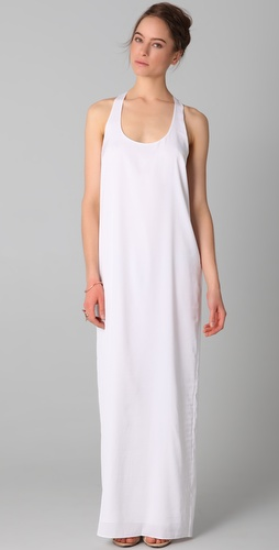 BCBGMAXAZRIA Sara Knot Back Gown