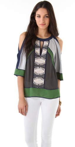 BCBGMAXAZRIA The Kesi Blouse