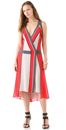 BCBGMAXAZRIA The Brenda Midi Dress