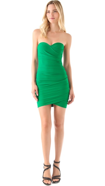 BCBGMAXAZRIA Madge Strapless Dress