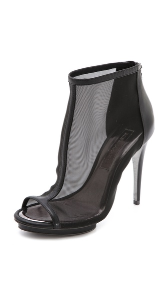 BCBGMAXAZRIA Gamma Mesh Booties