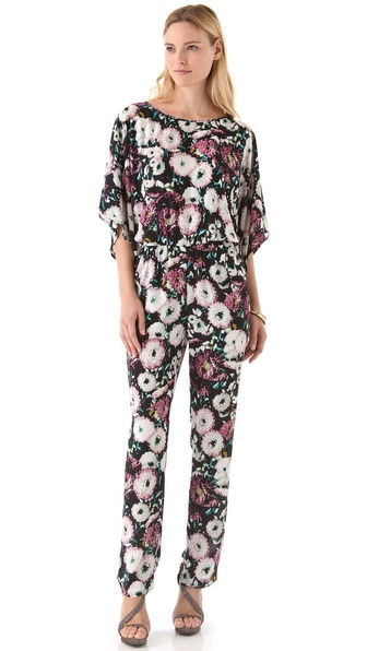BCBGMAXAZRIA Sianna Floral Jumpsuit