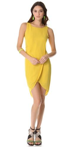 BCBGMAXAZRIA Audra Draped Dress