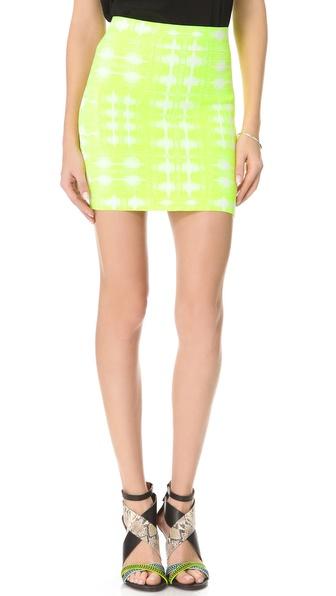 BCBGMAXAZRIA Simone Ikat Skirt