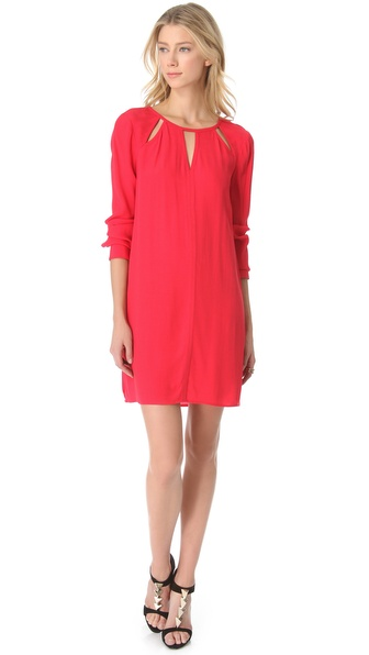 BCBGMAXAZRIA Emmalise Keyhole Dress