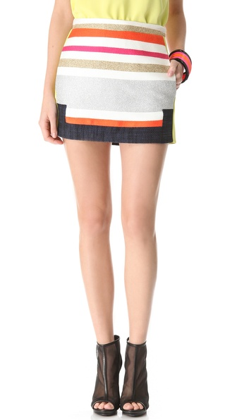 BCBGMAXAZRIA Ruba Skirt from shopbop.com