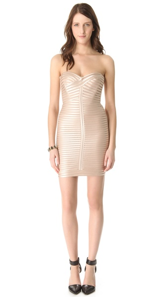 BCBGMAXAZRIA Lilli Woven Dress