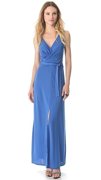 BCBGMAXAZRIA Sleeveless Slit Dress