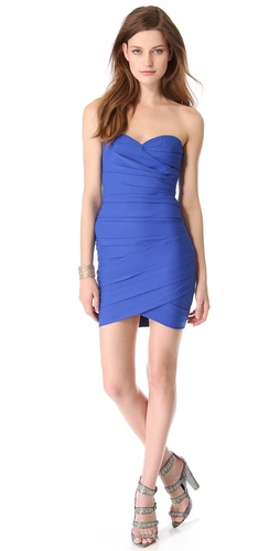 BCBGMAXAZRIA Strapless Mini Dress