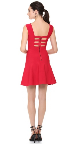 BCBGMAXAZRIA Cutout Zip Back Dress at Shopbop / East Dane