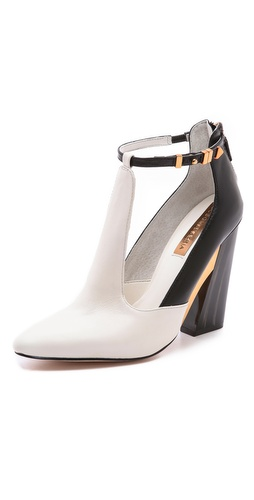 BCBGMAXAZRIA Measure T Strap Pumps at Shopbop / East Dane