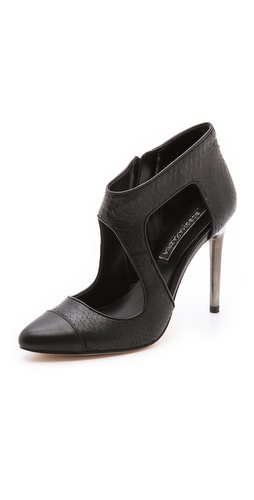 BCBGMAXAZRIA Trill Cutout Cap Toe Booties at Shopbop / East Dane