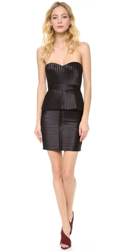 BCBGMAXAZRIA Karina Strapless Dress at Shopbop / East Dane