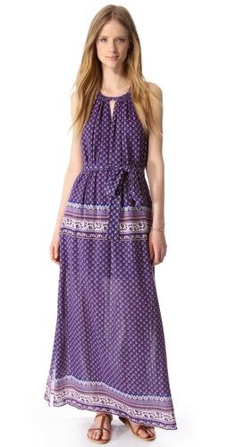 BCBGMAXAZRIA Mia Paisley Maxi Dress