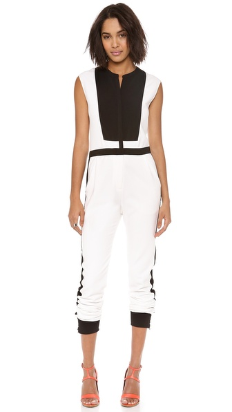 Bcbgmaxazria Patrycia Jumpsuit - Talc at Shopbop / East Dane