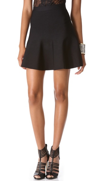 Bcbgmaxazria Ingrid Skirt - Black at Shopbop / East Dane