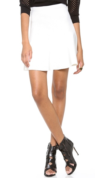 Bcbgmaxazria Ingrid Skirt - Gardenia at Shopbop / East Dane