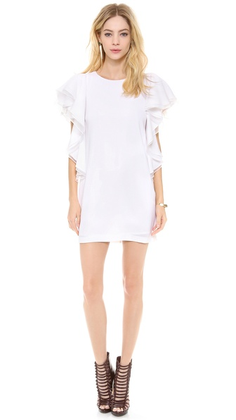 Bcbgmaxazria Solace Dress - White at Shopbop / East Dane