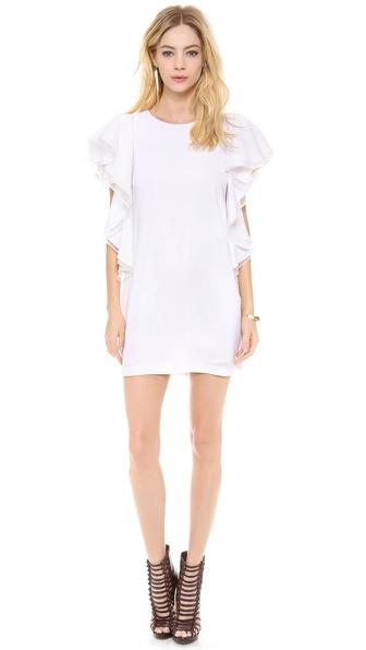 Bcbgmaxazria Solace Dress - White at Shopbop / East Dane