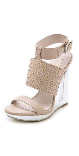 BCBGMAXAZRIA Mave Open Wedge Sandals at Shopbop / East Dane